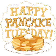 Shrove Tuesday ~ February 13th