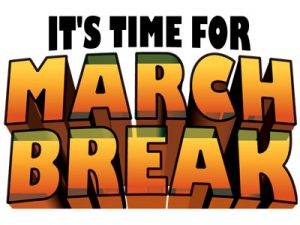 March Break-Dates Updated