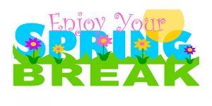 Spring Break April 12-16